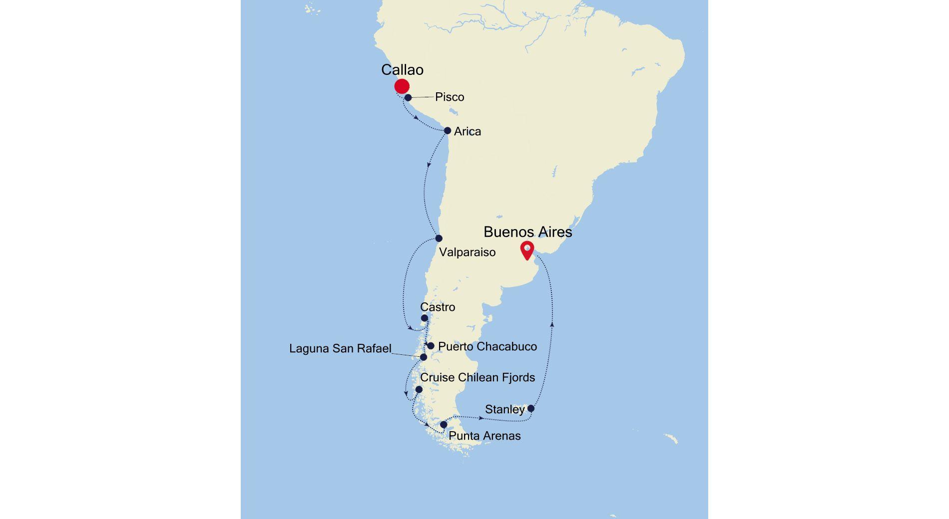 3002 - Callao to Buenos Aires
