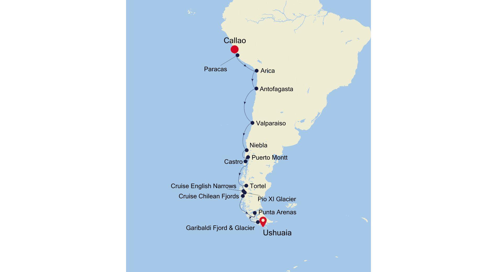 E4201028019 - Lima à Ushuaia