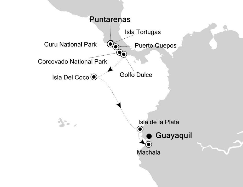 7920 - Puntarenas nach Guayaquil