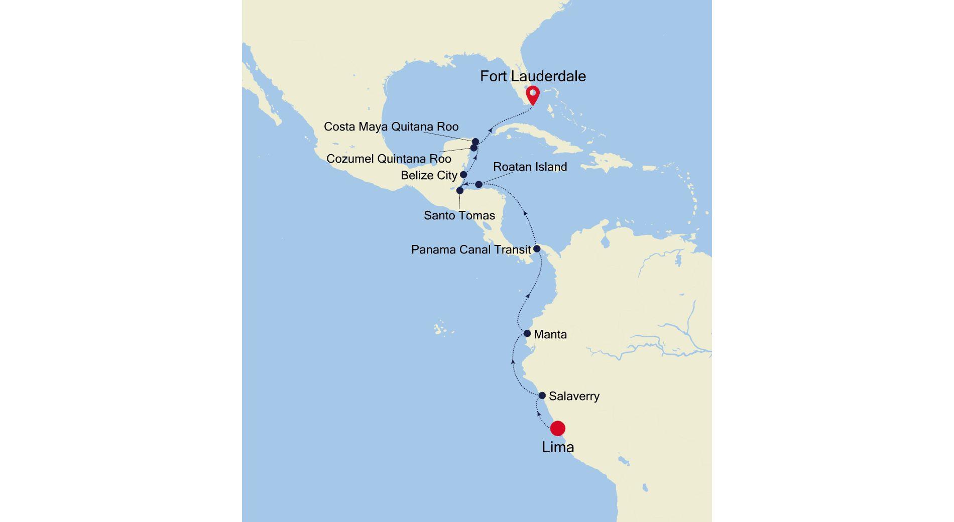 DA211218016 - Lima nach Fort Lauderdale