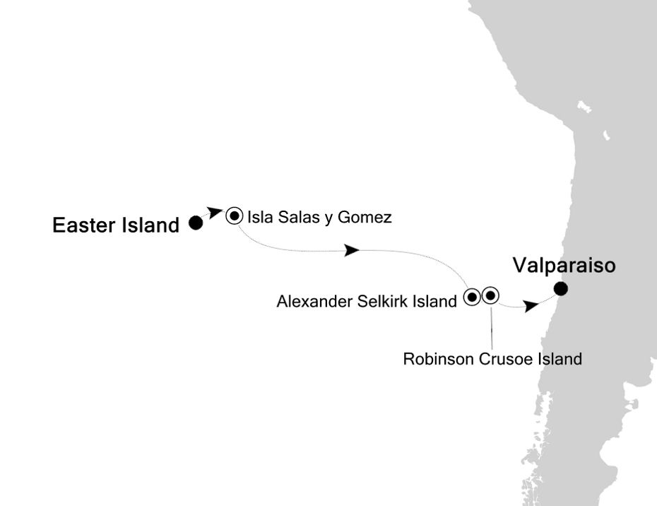 7821A - Easter Island to Valparaiso