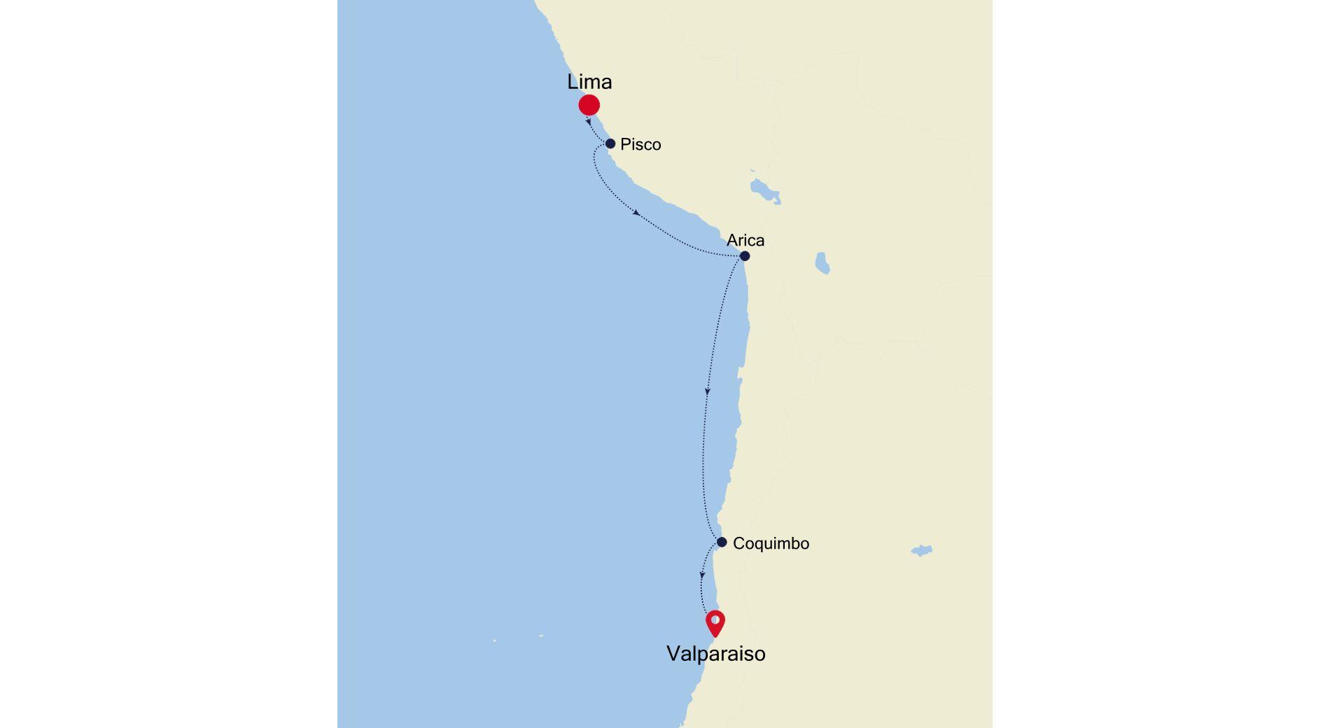 MO210123S08 - Lima to Valparaiso