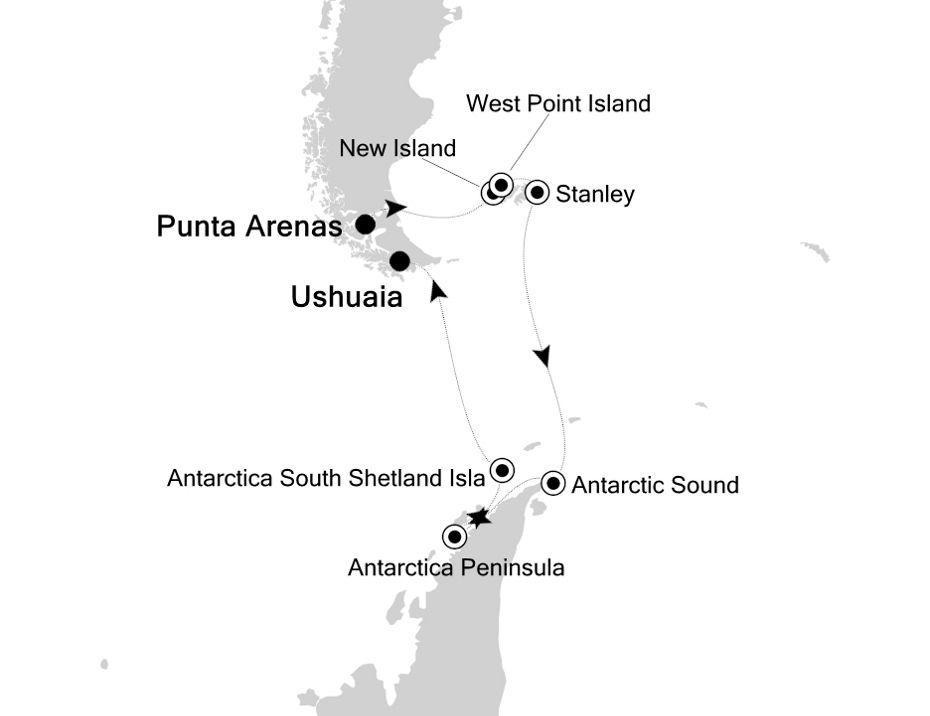 1825 - Punta Arenas to Ushuaia