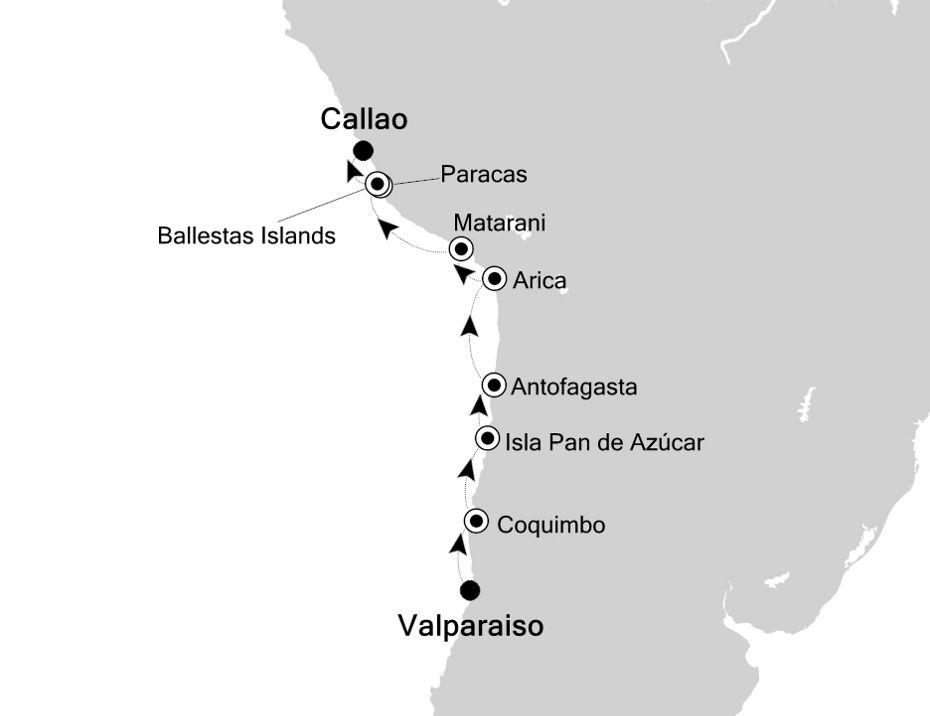 7805 - Valparaiso a Callao