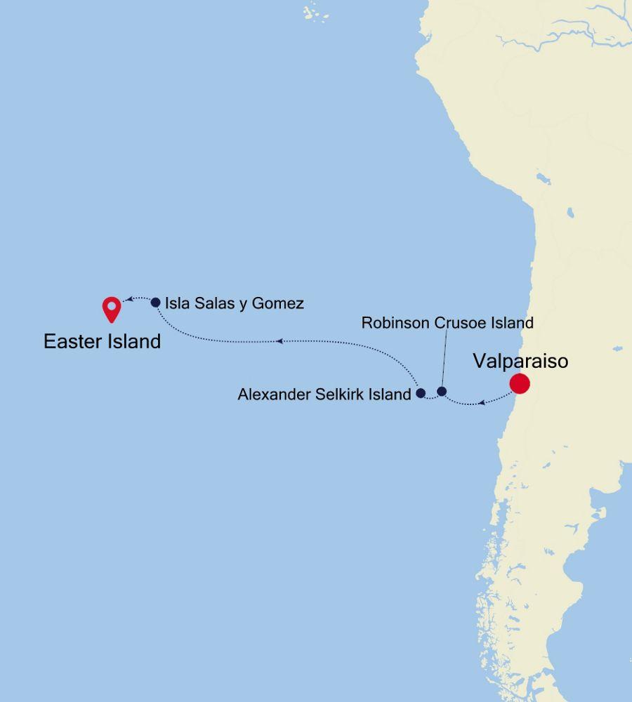 7905 - Valparaiso a Easter Island