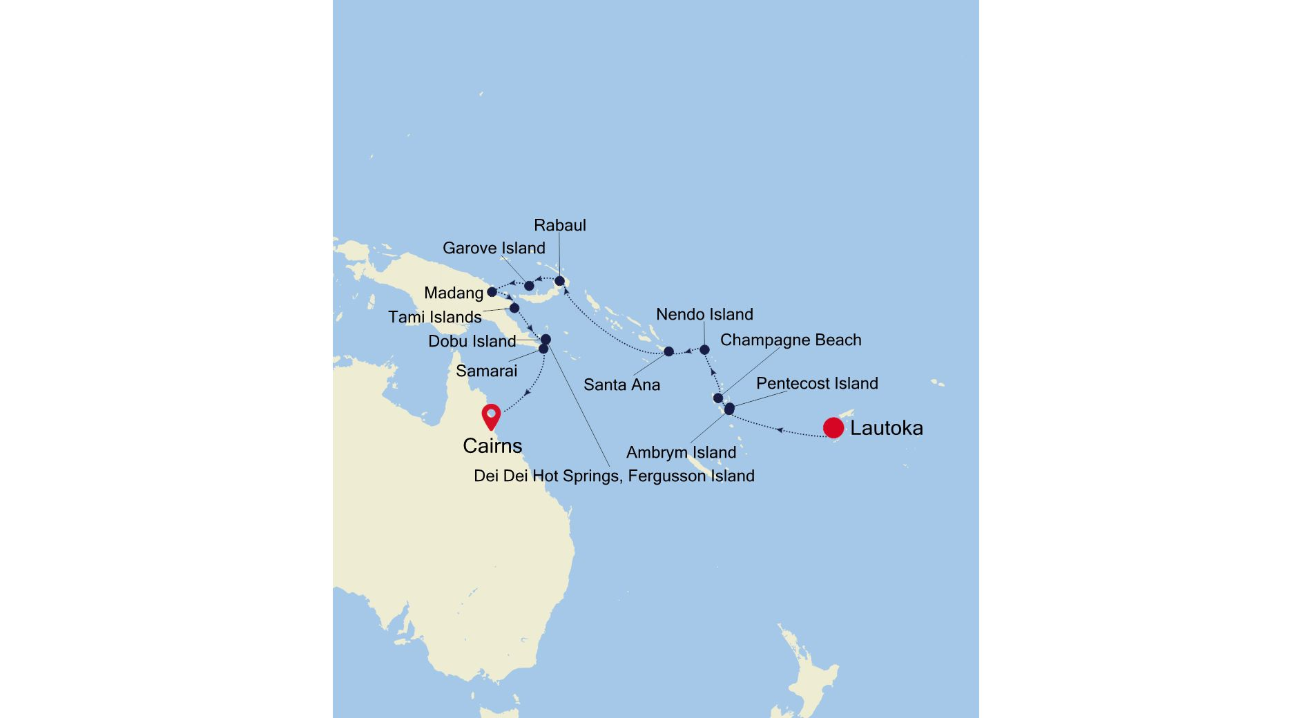 E4220318014 - Lautoka nach Cairns