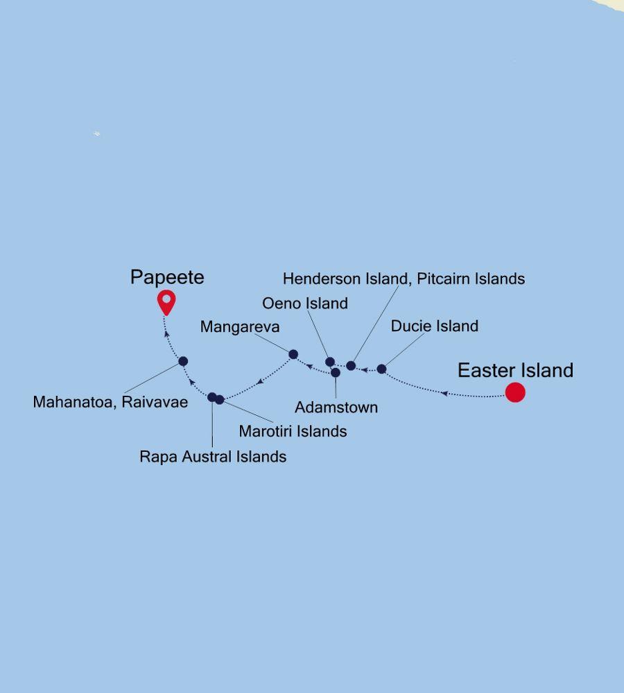 E1200327014 - Easter Island to Papeete