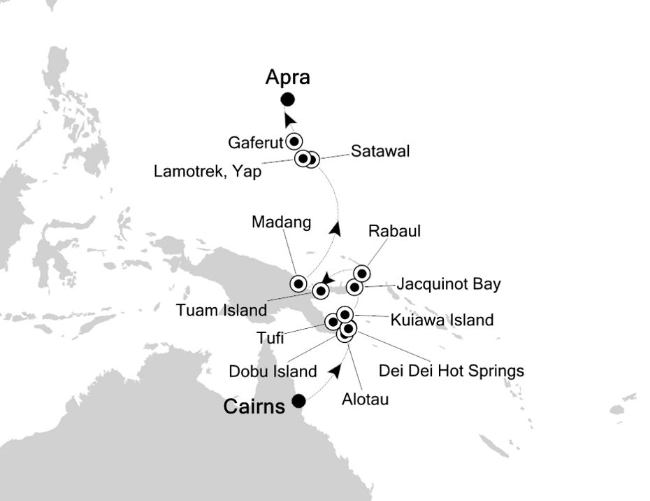 E1200511016 - Cairns a Apra