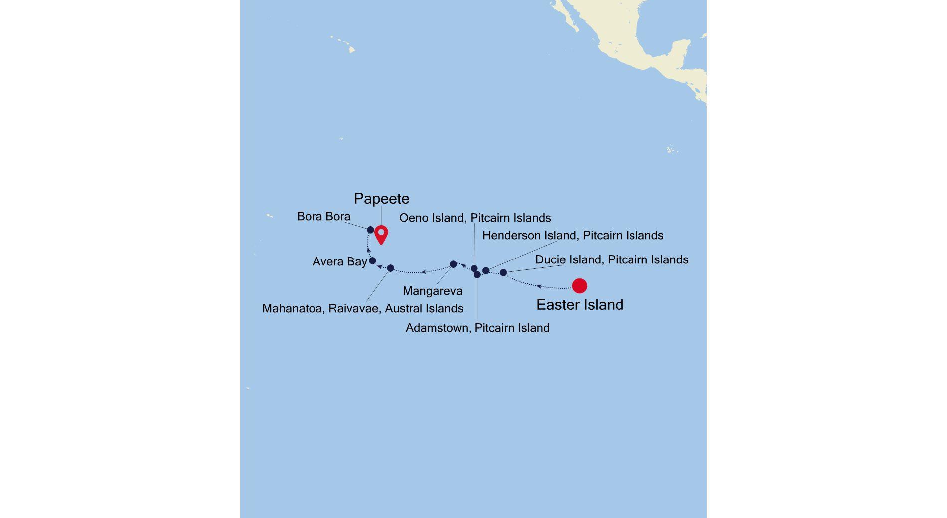 E1201117014 - Easter Island à Papeete