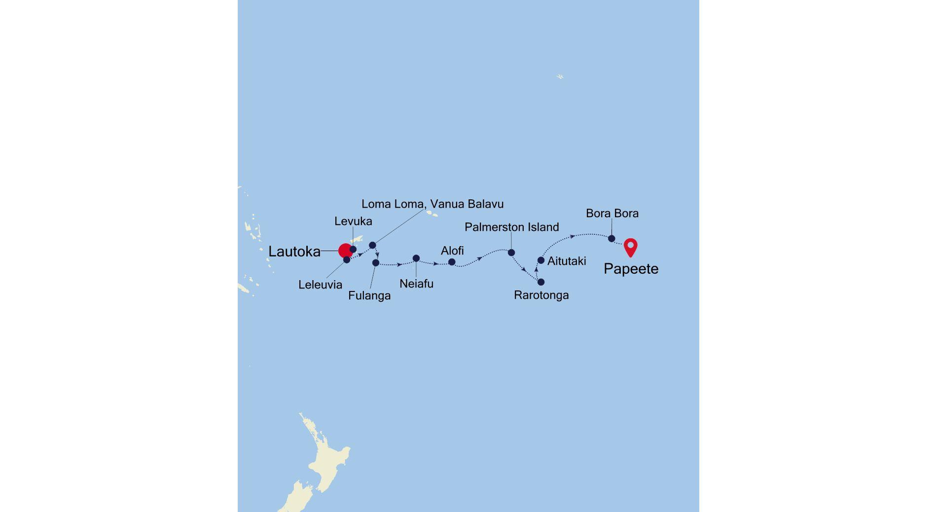 E1210926012 - Lautoka à Papeete