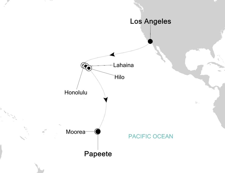 4801 - Los Angeles to Papeete