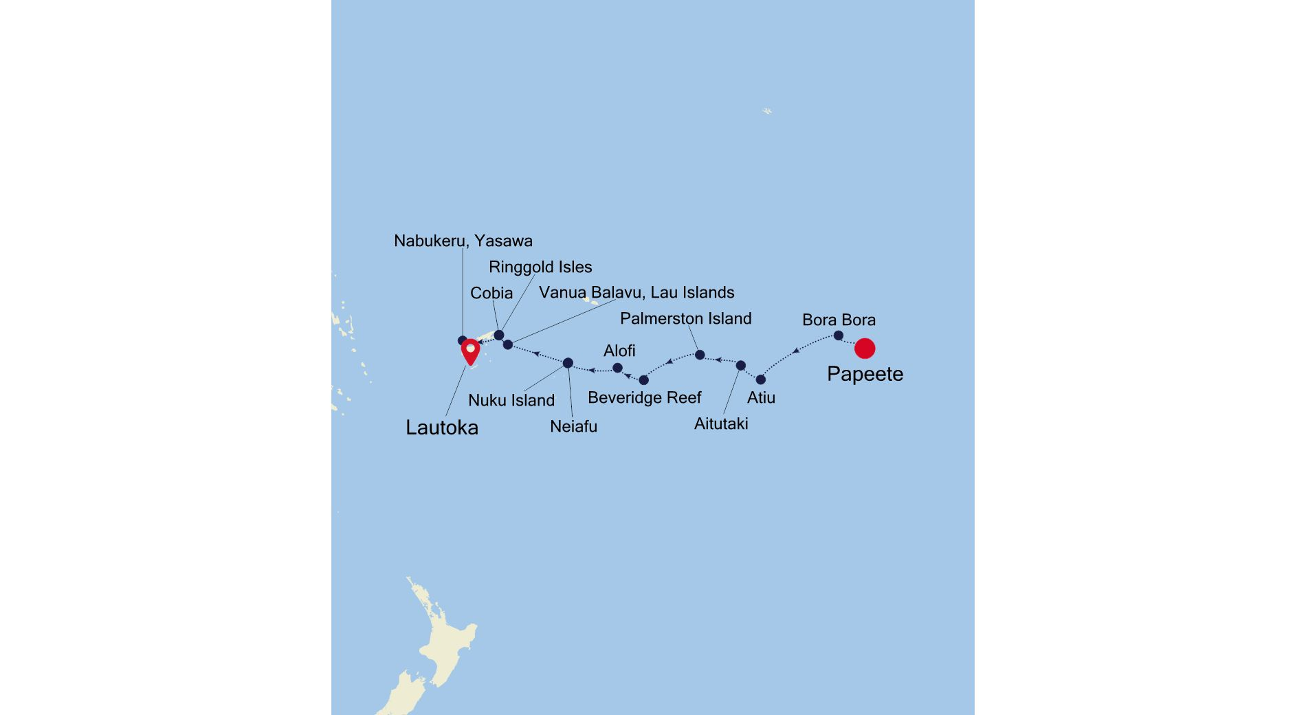 7907 - Papeete a Lautoka