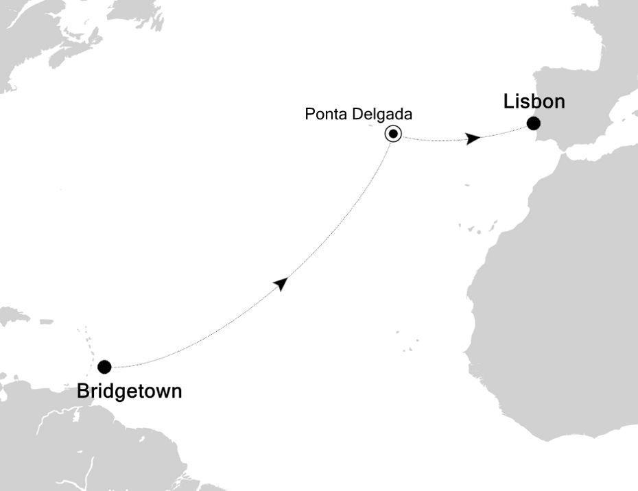 2010 - Bridgetown to Lisbon