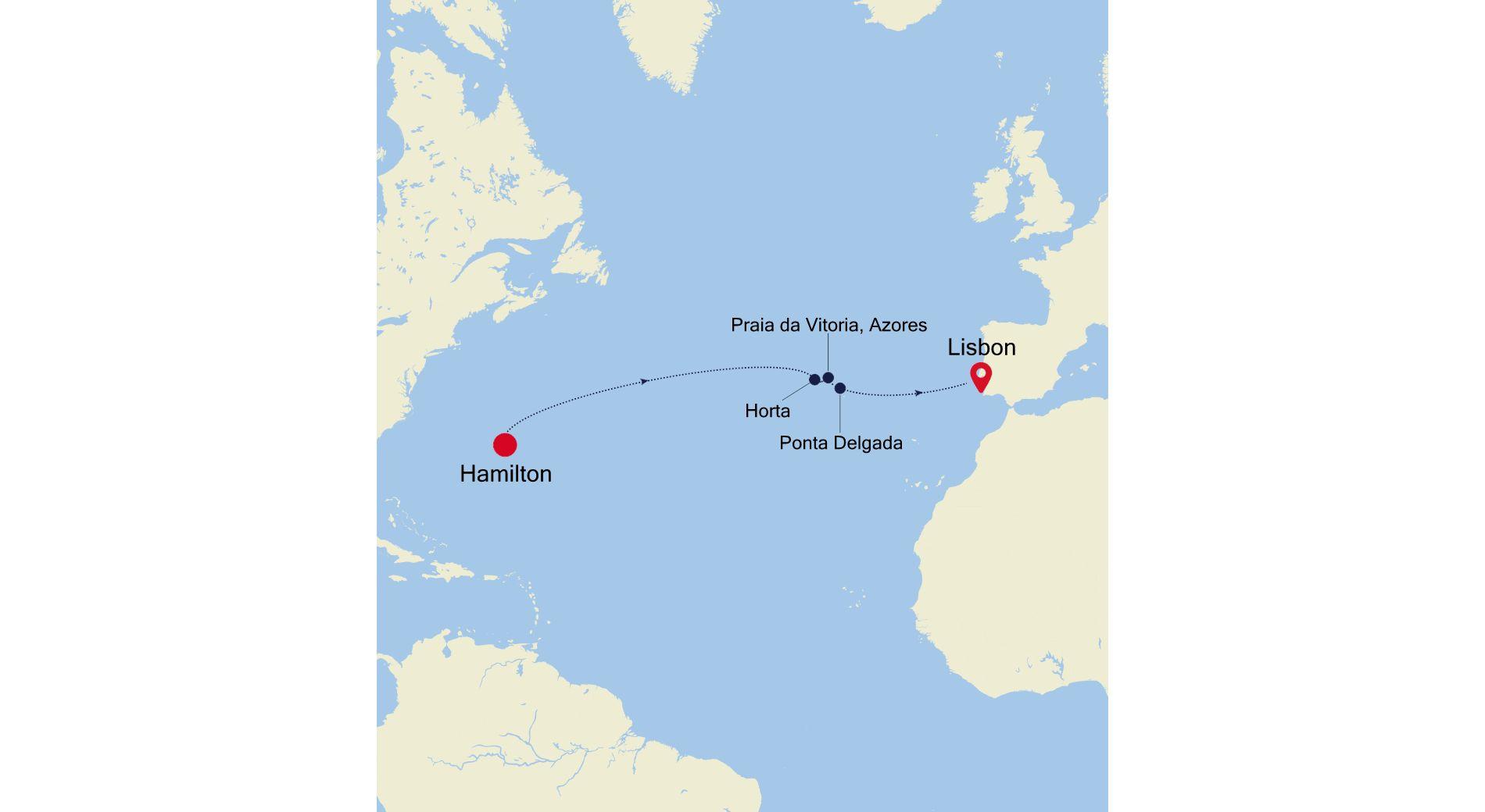 DA220321S11 - Hamilton nach Lisbon