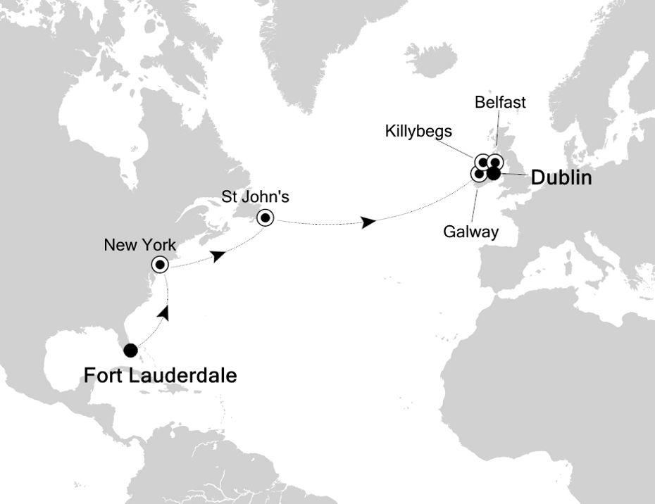 6810 - Fort Lauderdale a Dublin