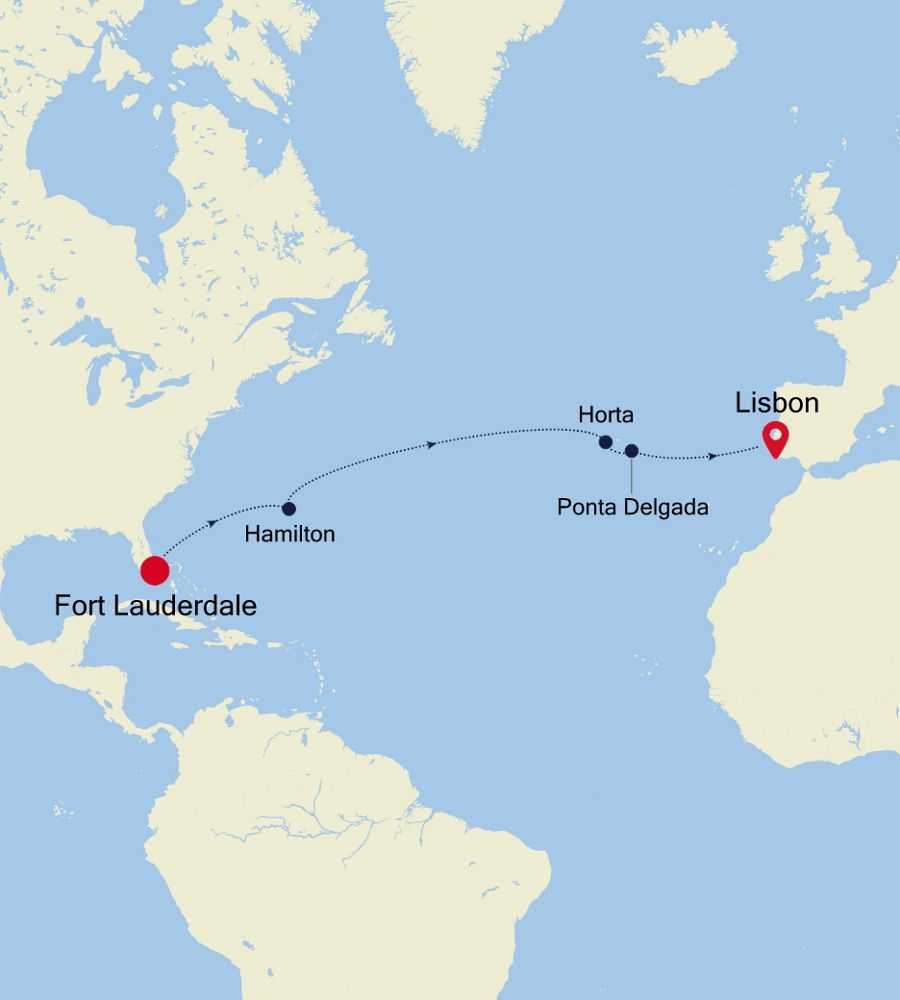 5910 - Fort Lauderdale to Lisbon