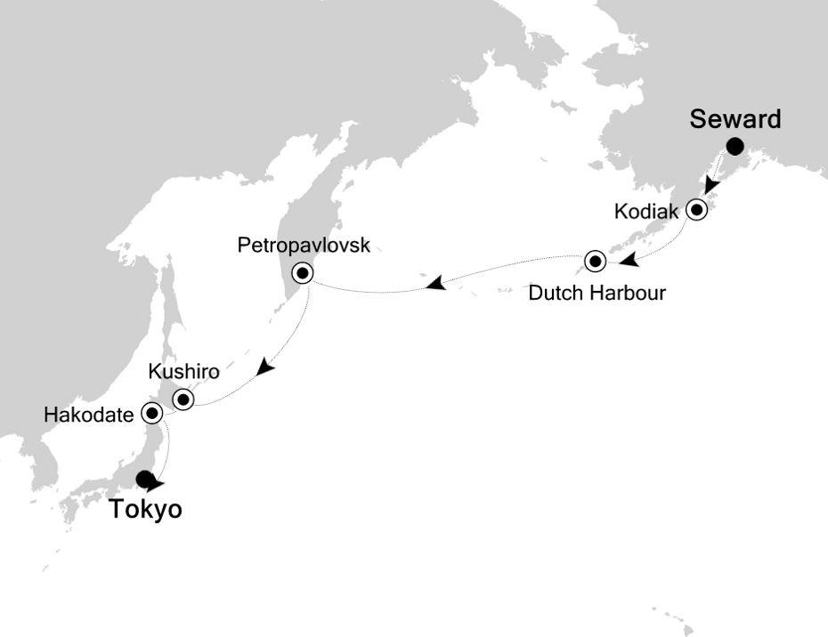 SM200910013 - Seward nach Tokyo
