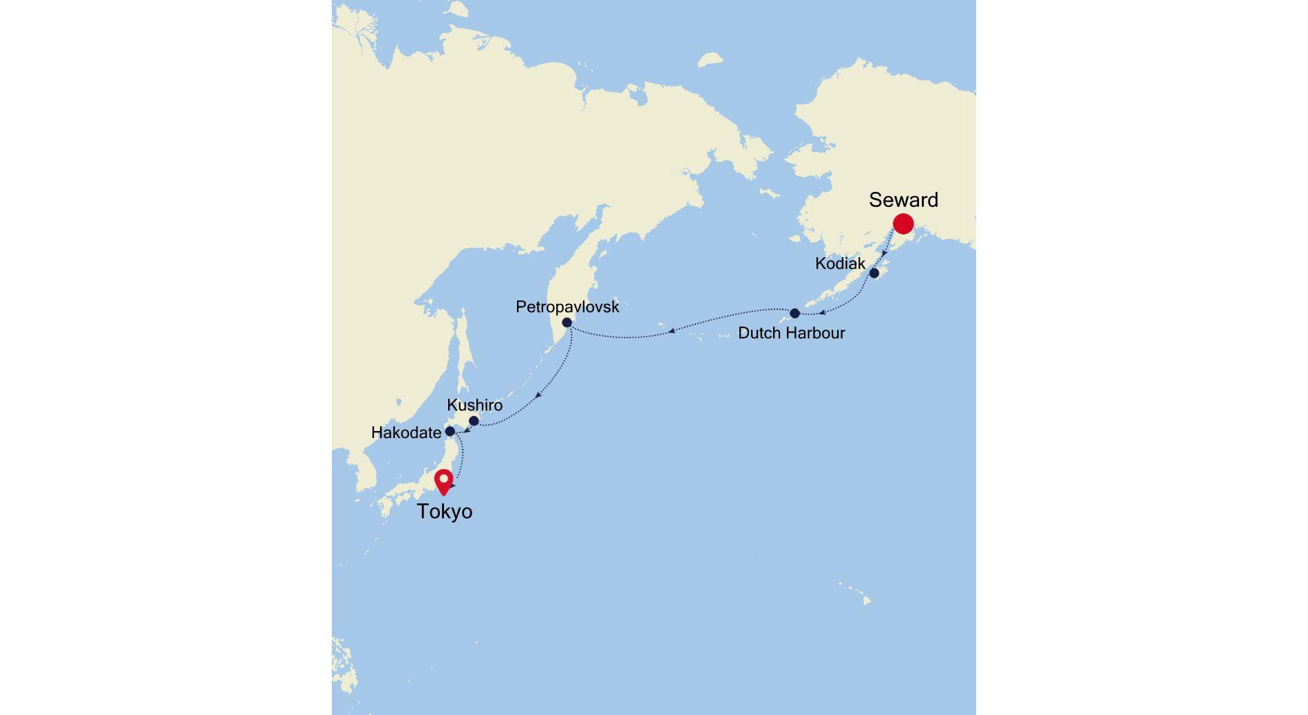 SM200910013 - Seward (Anchorage to Tokyo