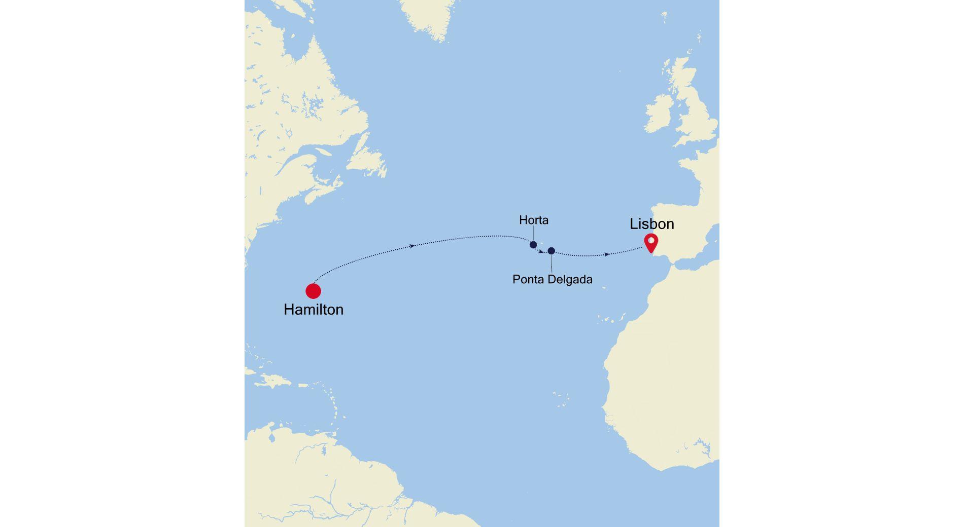 SS210418S10 - Hamilton to Lisbon