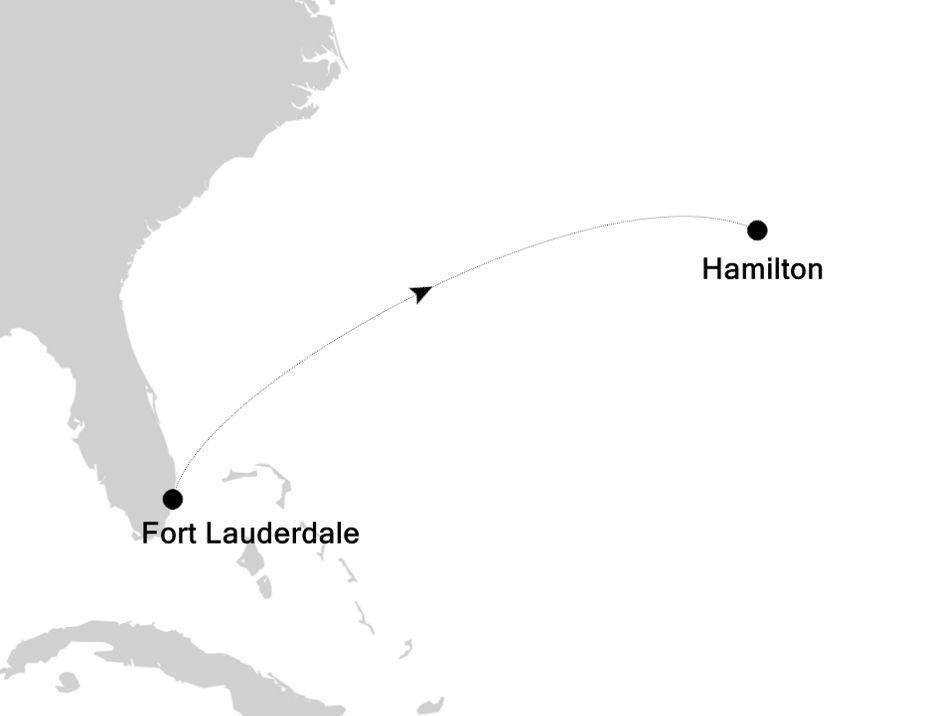 5910A - Fort Lauderdale nach Hamilton