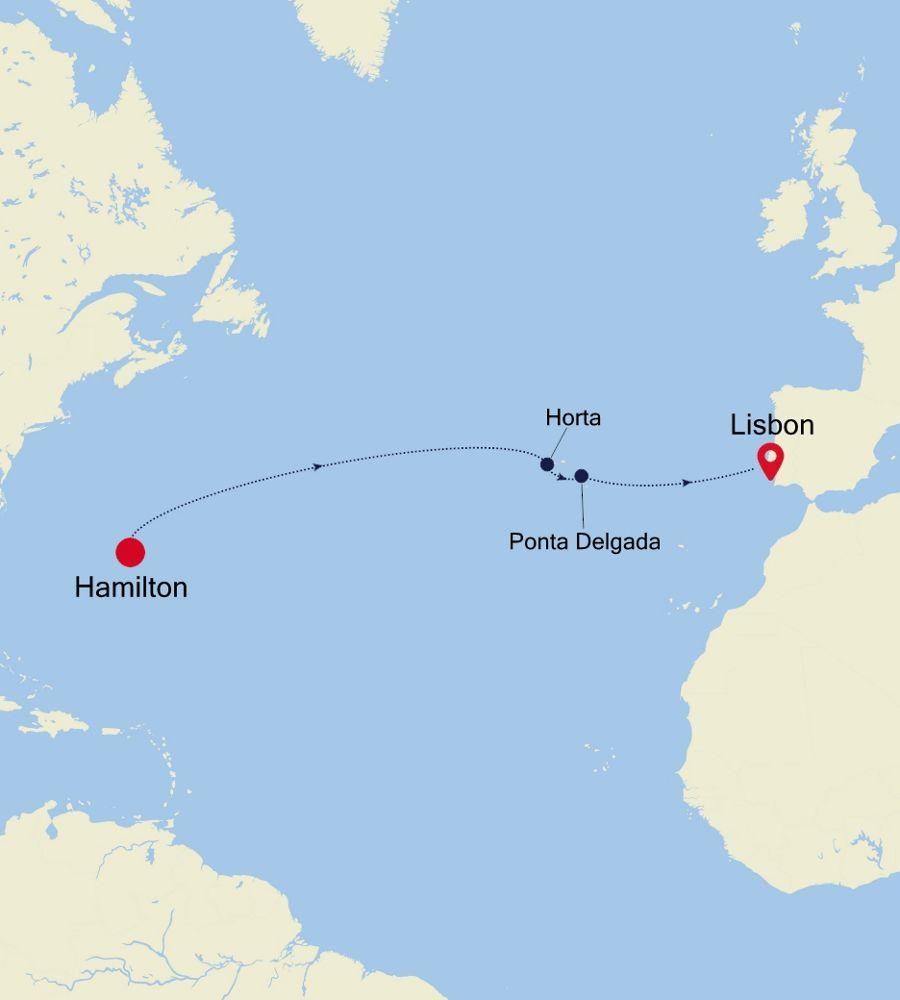 5910B - Hamilton a Lisbon