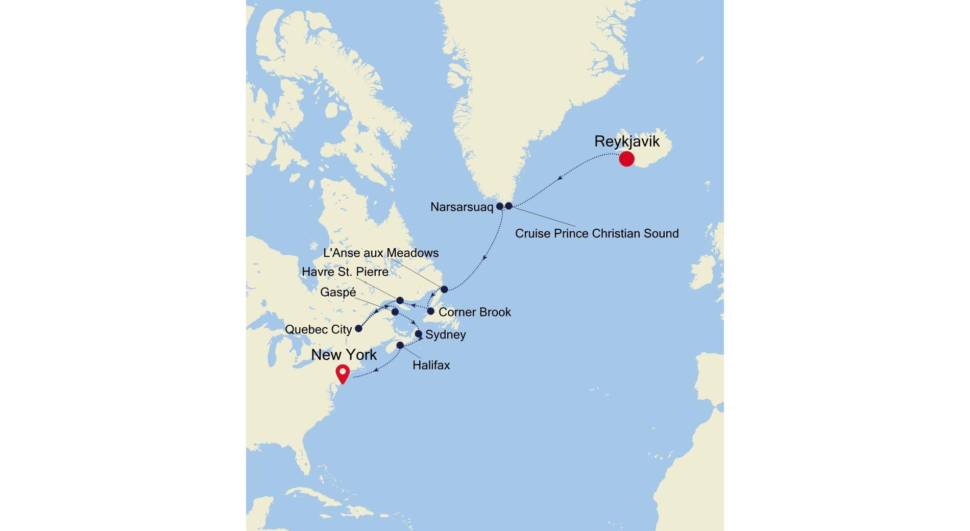 WH210831016 - Reykjavik à New York