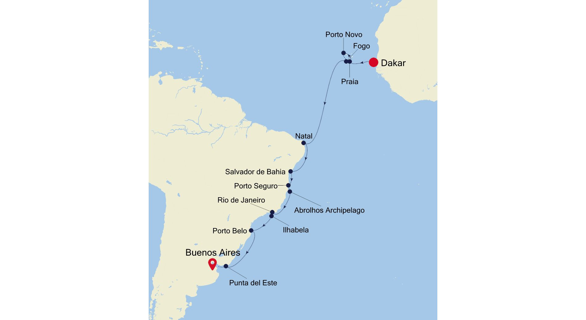 WI211029022 - Dakar a Buenos Aires