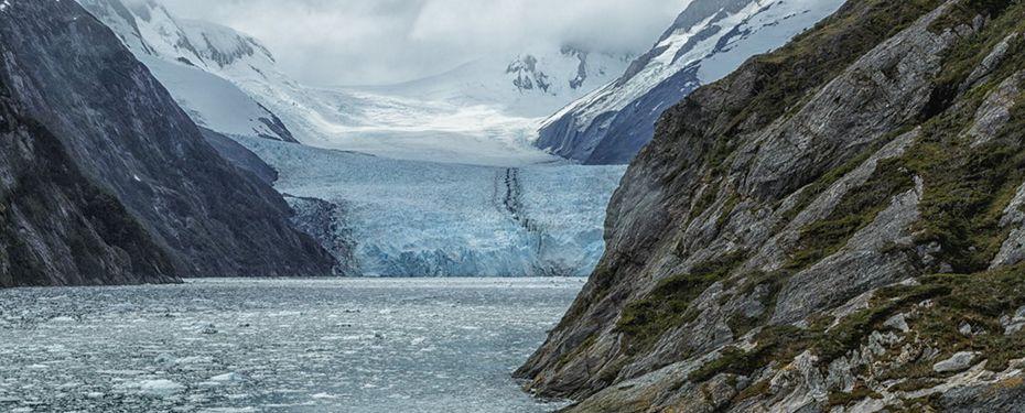 Cruising Garabaldi Glacier