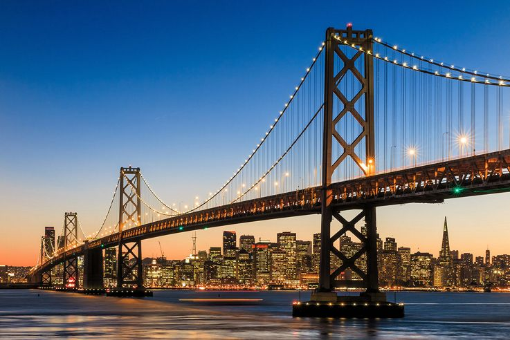 Silversea American West Coast Luxury Cruise - San Francisco