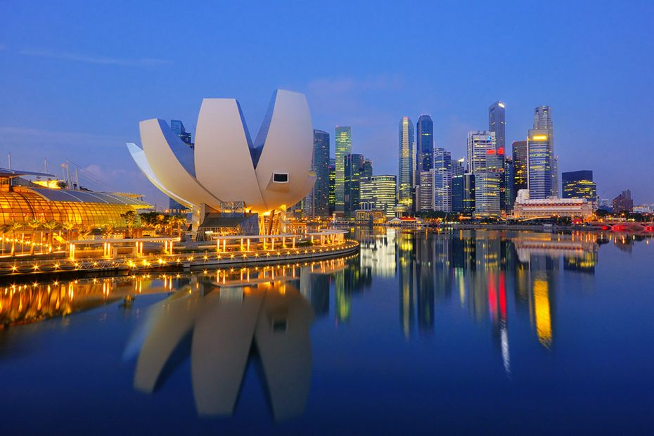 Silversea Asia Luxury Cruise - Singapore