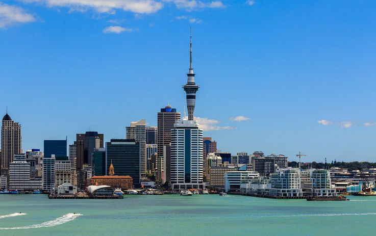 Silversea Australia and New Zealand Luxury Cruise - Auckland