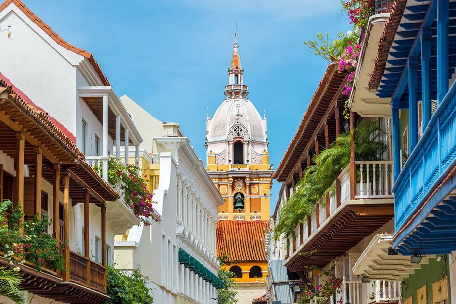 Silversea Caribbean and Central America Luxury Cruise - Cathedral in Cartagena