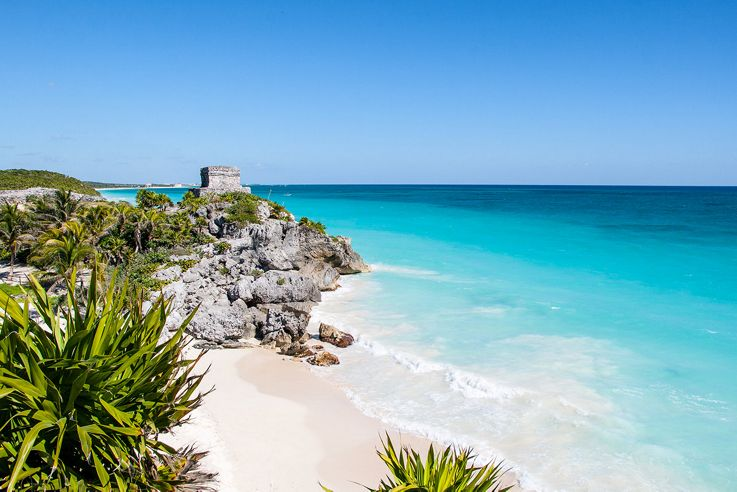 Silversea Caribbean and Central America Luxury Cruise - Tulum beach
