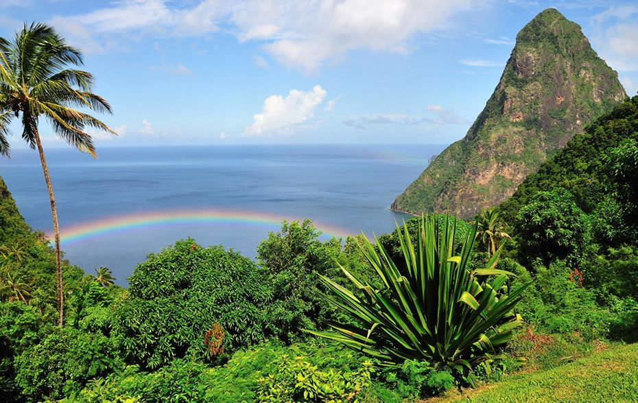 Silversea Caribbean and Central America Luxury Cruise - Pitons Bay