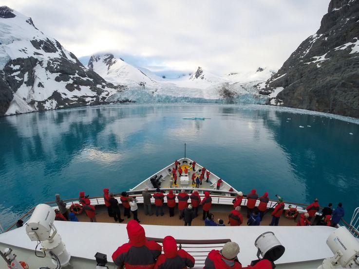 Silversea Antarctica Luxury Cruise - Drygalski Island