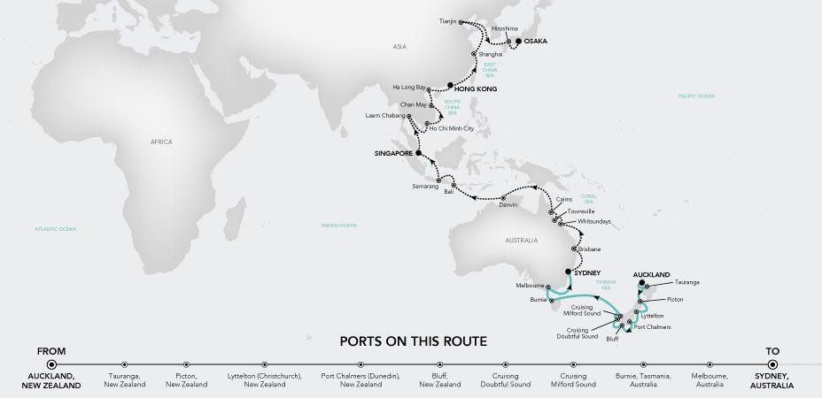 Grand Voyage 2020 - Pacific. Silversea Luxury Cruises. | Silversea