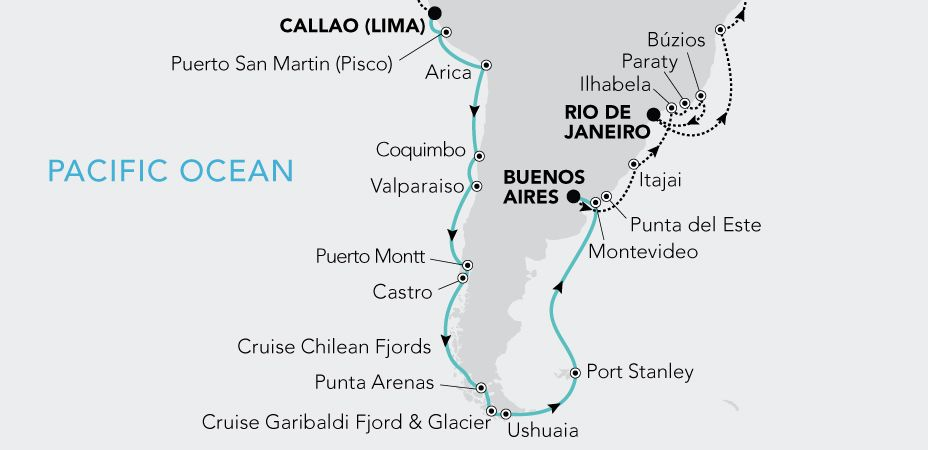 Grand Voyage South America 2021