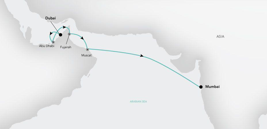 Grand Voyage 2019 - Océano Indico