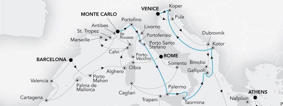 Grand Voyage 2019 - Mediterrâneo