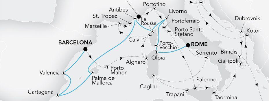 Grand Voyage 2019 - Mediterranean