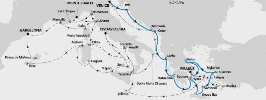 Grand Voyage 2018 - Mediterranean