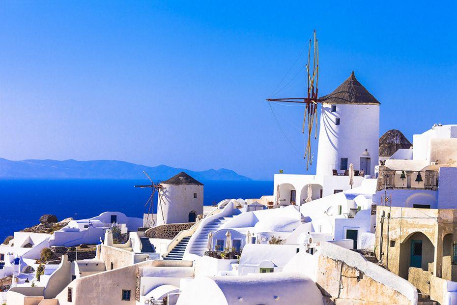 Silversea Mediterranean Luxury Cruise - Santorini