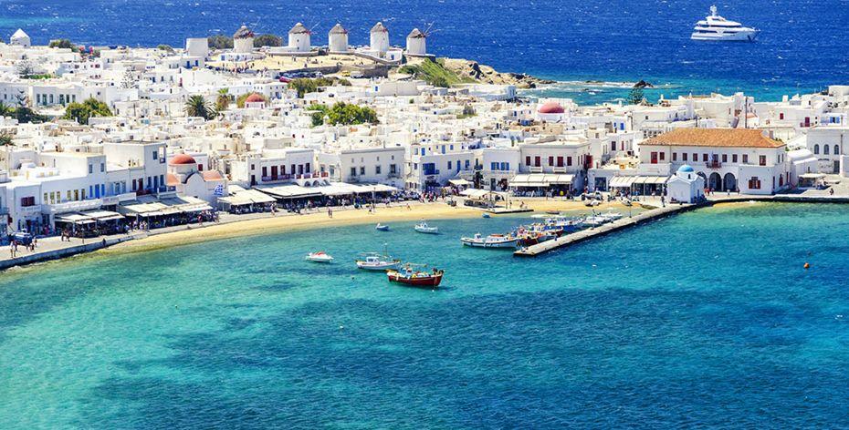 Silversea Mediterranean Luxury Cruise - Mykonos