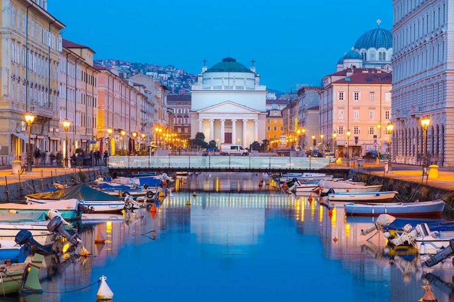 Silversea Mediterranean Luxury Cruise - Trieste