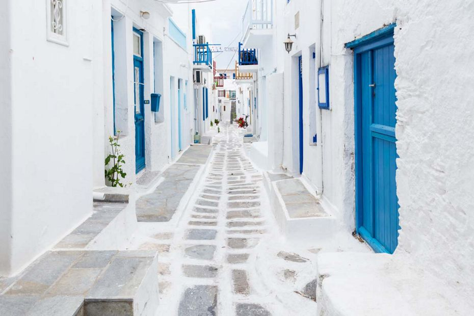 Silversea Mediterranean Luxury Cruises - Mykonos