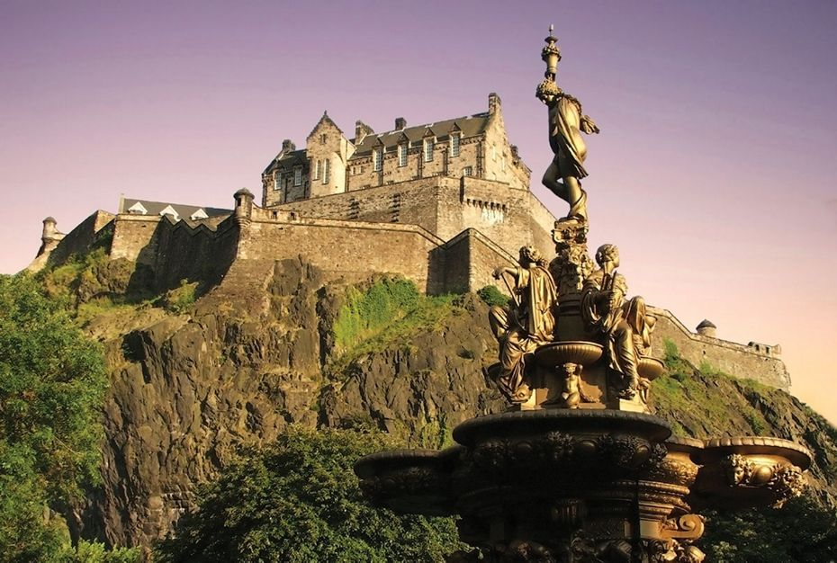 Silversea Northern Europe and British Isles Luxury Cruise - Edinburgh