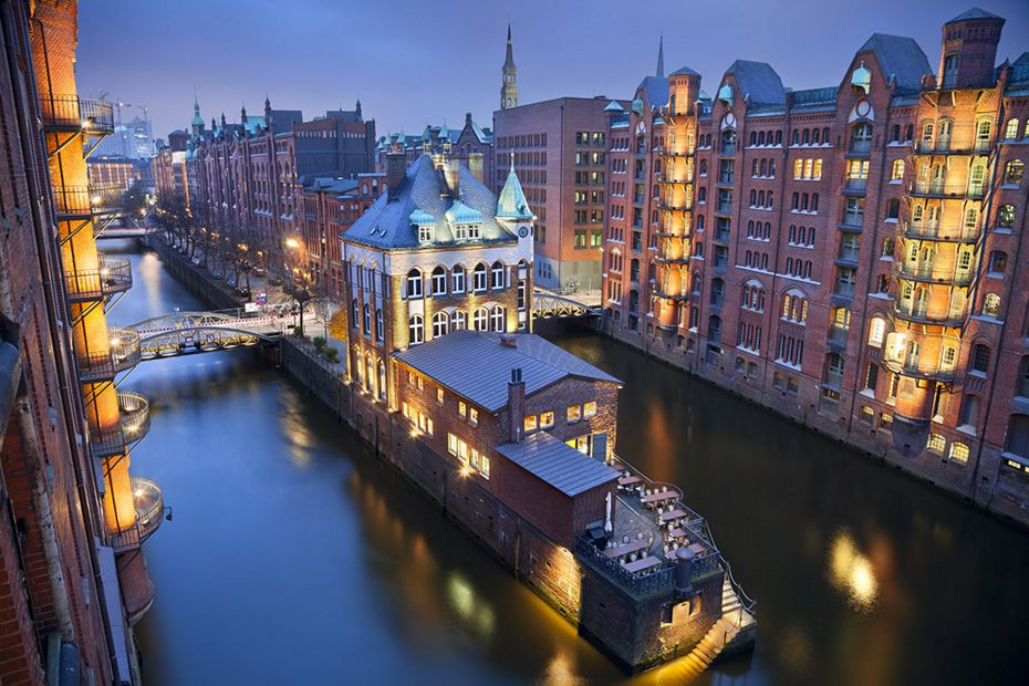 Silversea Northern Europe and British Isles Luxury Cruise - Hamburg