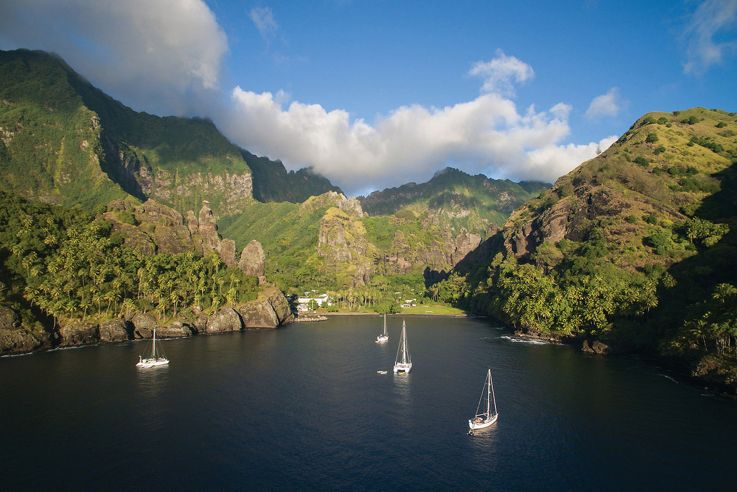 Silversea South Pacific Islands Luxury Cruise - Fatu Hiva Island