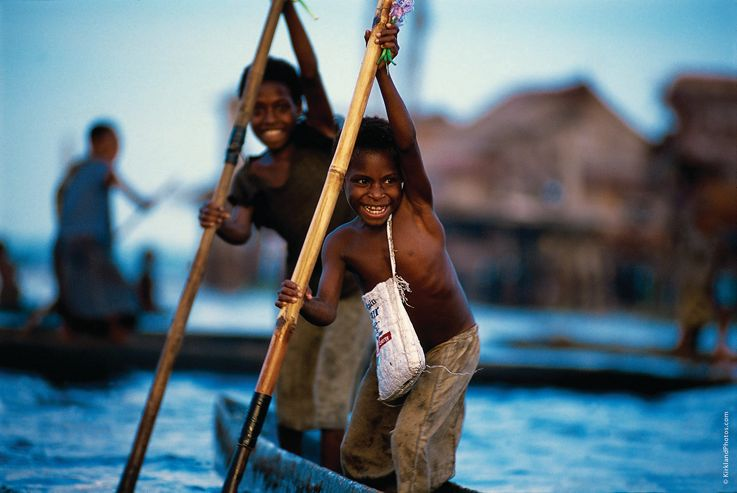 Silversea South Pacific Islands Luxury Cruise - Sepik River