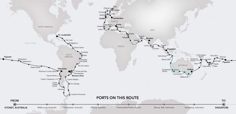 Legends of Cruising-Weltreise 2020 | Silversea